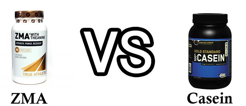 ZMA vs Casein