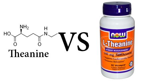 Theanine vs L-Theanine