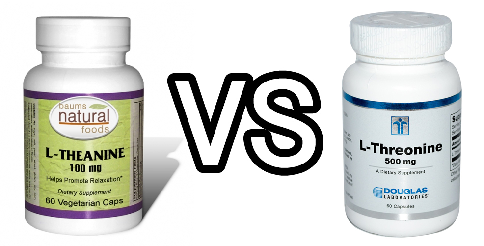 Threonine vs Theanine