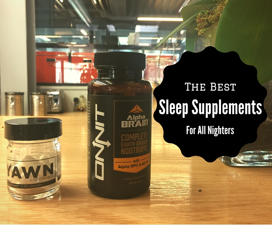 The Best Sleep Supplements For All Nighters (1)
